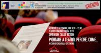 Scuola e teatro. Educare al teatro